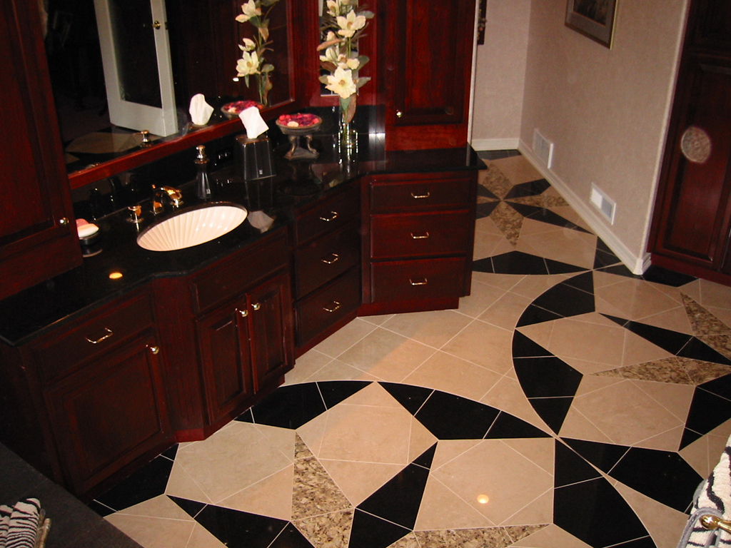 Marble And Granite Floor Design