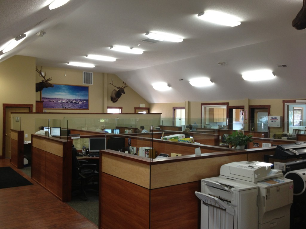 Commercial office space remodel