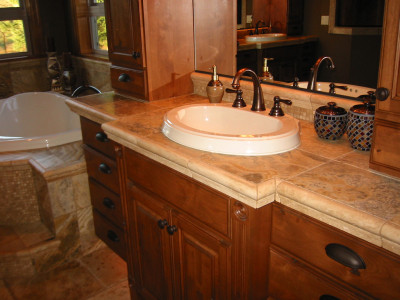 travertine-vanity-top